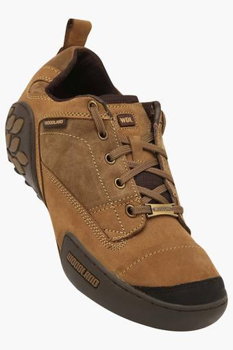 WOODLAND -  Khaki Casual Shoes - Main