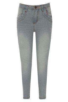 Boys 4 Pocket Rinse Wash Jeans
