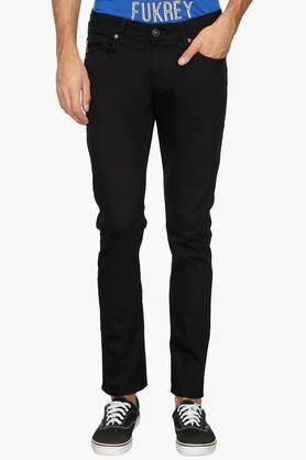 NUMERO UNO Mens 5 Pocket Coated Jeans (Martin Fit)