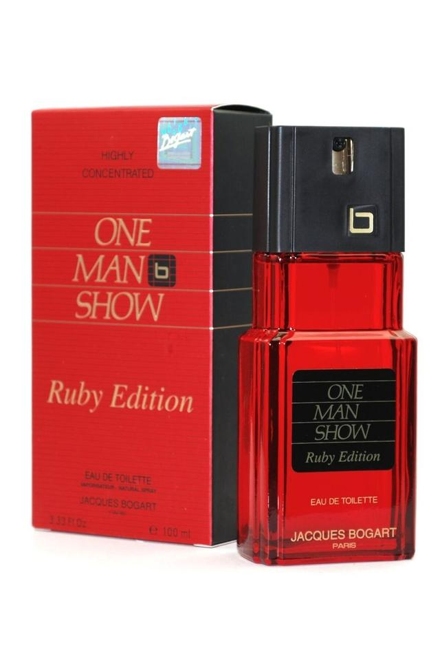 Mens Bogart One Man Show Ruby Edition EDT - 100ml