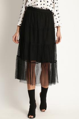 MARIE CLAIRE Womens Self Pattern Skirt