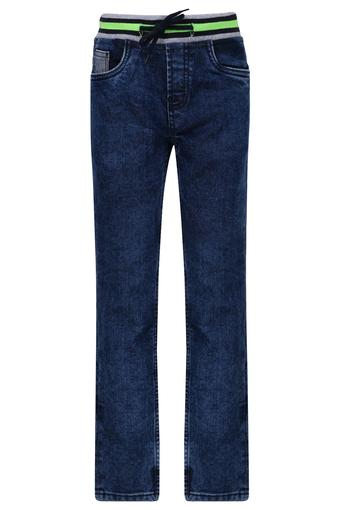 Boys 5 Pocket Heavy Wash Jeans