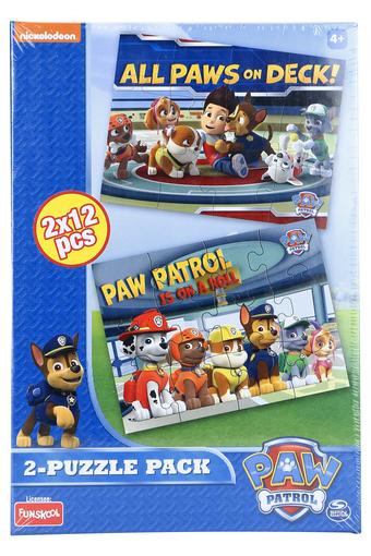 Unisex All Paws On Deck Puzzle Set of 2