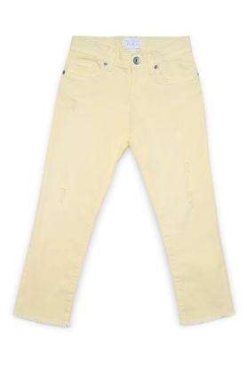 Girls 5 Pocket Rinse Wash Jeans