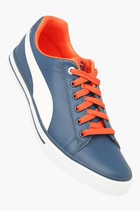 PUMA Mens Leather Lace Up Sports Shoes - 203325377