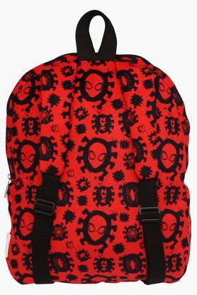 Unisex Zipper Closure Spiderman Backpack