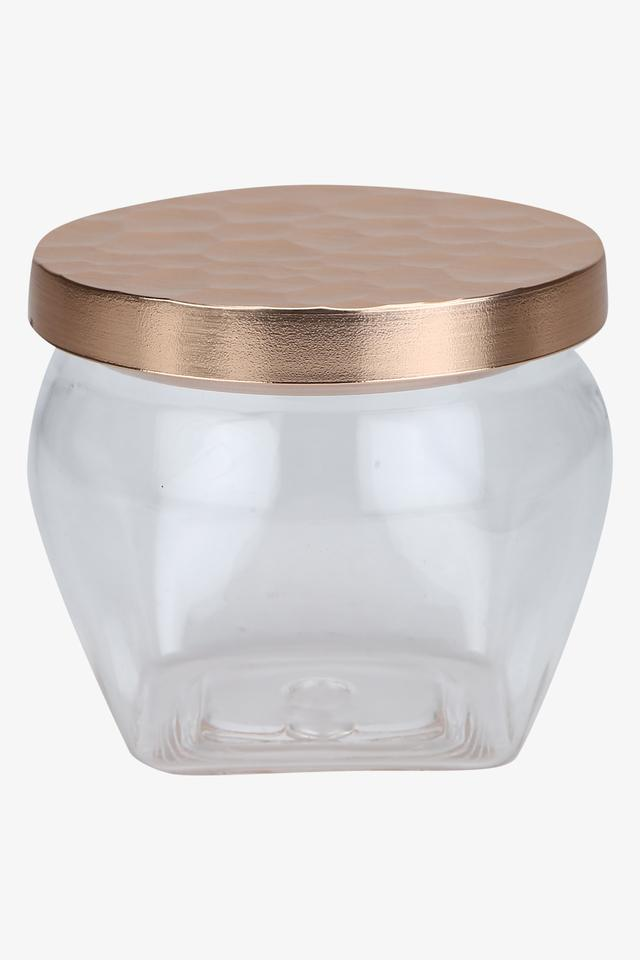Transparent Storage Canister with Lid