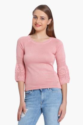 ONLY Womens Round Neck Casual Pullover
