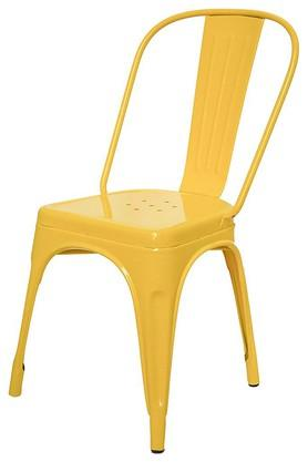 Yellow Stylo Chairs Set of 4