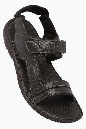 RED TAPEMens Leather Velcro Closure Sandals - 203095194_9212