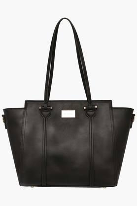 SATYA PAUL Womens Zipper Closure Tote Handbag