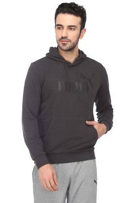 Mens Hooded Neck Slub Jacket
