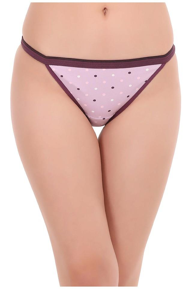 Womens Low Waist Polka Dots Bikini Briefs