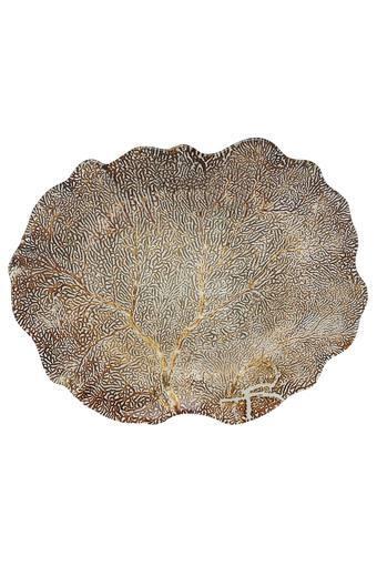 Genuine Self Pattern Textured Platter