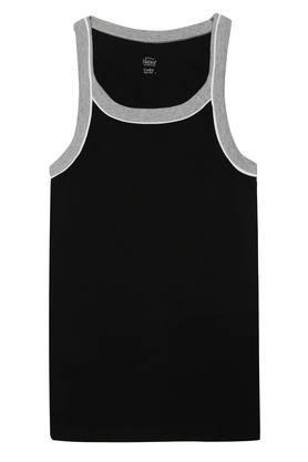 Mens Round Neck Solid Vest