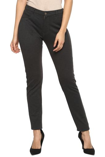 Buy Austin Reed Womens 2 Pocket Solid Formal Trousers Shoppers Stop