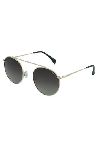 Unisex Round Gradient Polarized Sunglasses - 2344C1PSG