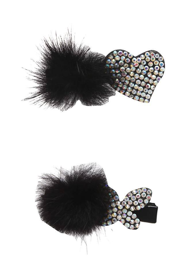 Girls Embellished Clip Pack of 2