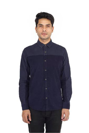 UNITED COLORS OF BENETTON -  P 140 Navy Shirts - Main
