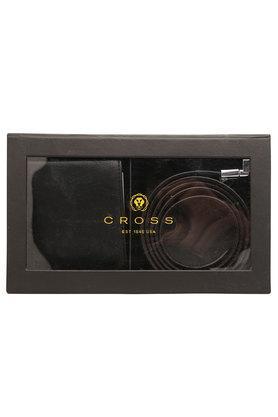 CROSSMens 1 Fold Wallet And Belt Set