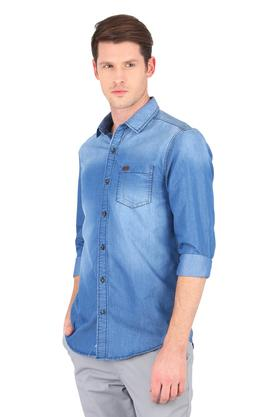 Mens Washed Casual Shirt