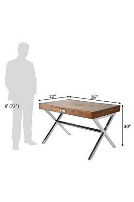 Brown Stuart Study Table