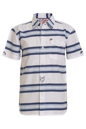 Boys Striped Casual Shirt