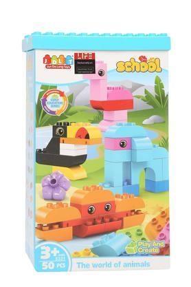 Kids Block Activity Set - 50 Pcs