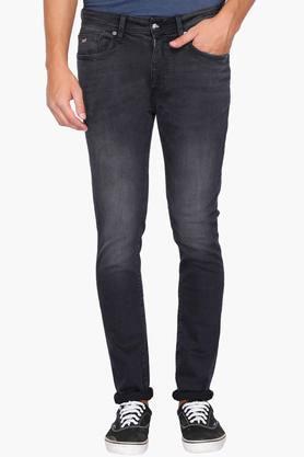 ED HARDYMens Extra Slim Fit Mild Wash Jeans