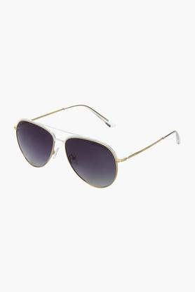 AZZARO Unisex Aviator Polarized Sunglasses - AZ60011C014