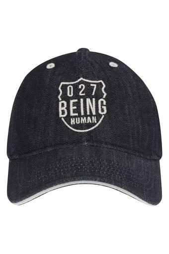 Mens Slub Embroidered Cap