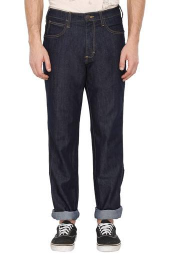 Mens 5 Pocket Coated Jeans