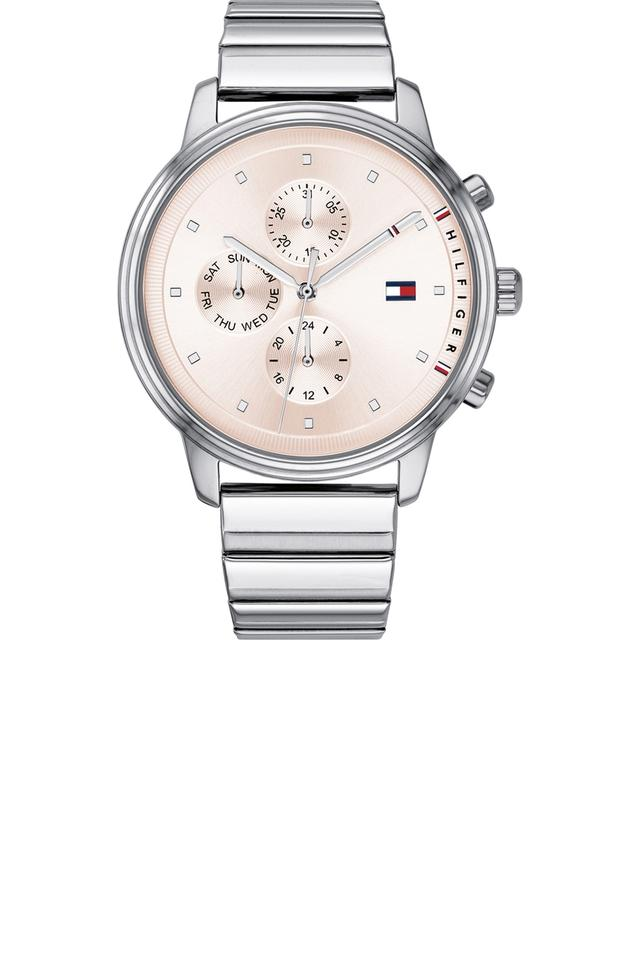 Womens Chronograph Stainless Steel Watch