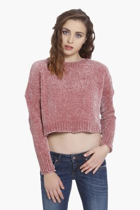 ONLY Womens Knitted Pattern Pullover - 202995365