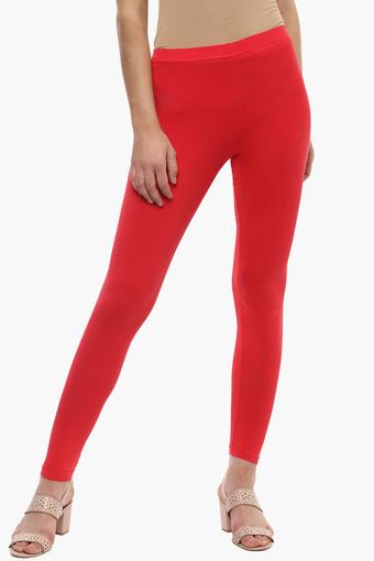 Buy Go Colors Womens Solid Casual Leggings Shoppers Stop