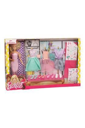 Girls Doll and Fashion Set
