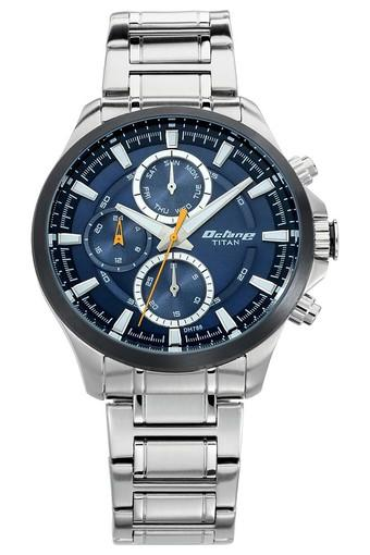Mens Multi-Function Metallic Watch