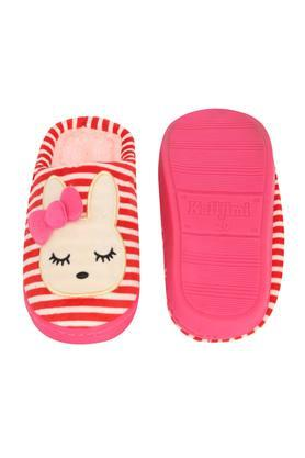 Stripe Slipon Bath Slippers
