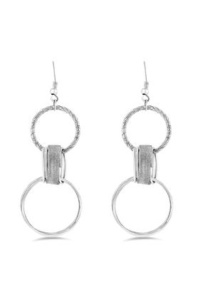 Womens Silver Plated Earring