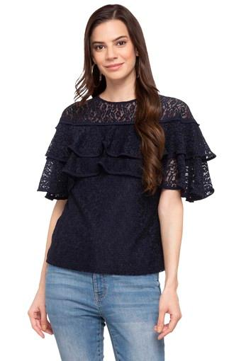 GIPSY -  Navy Tops & Tees - Main