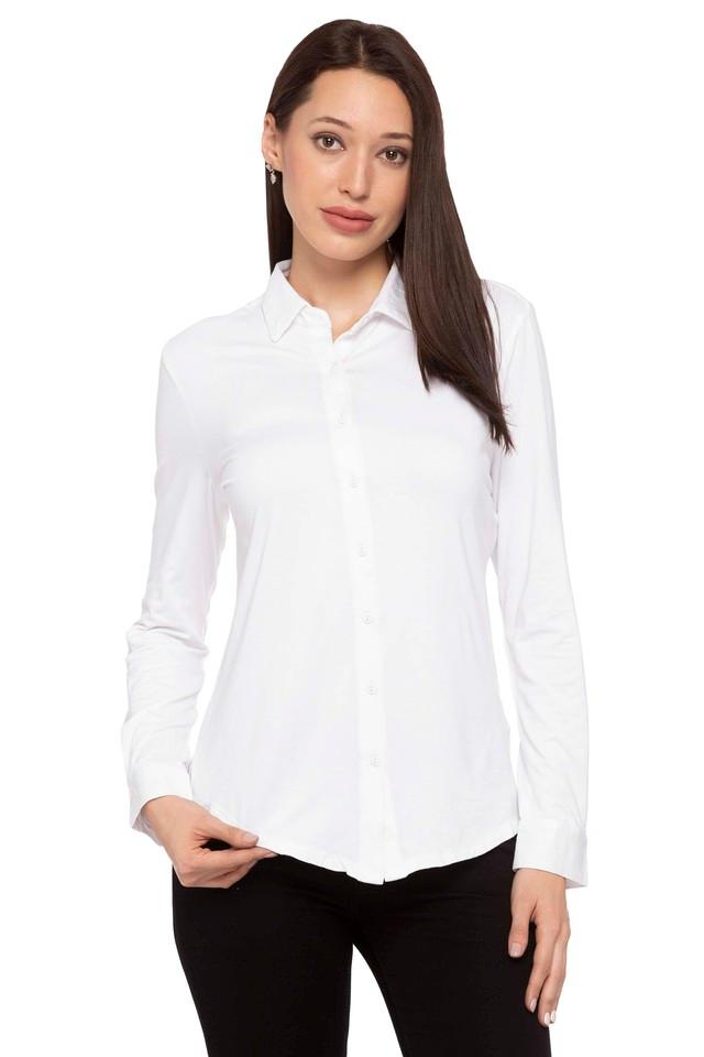 Womens Solid Formal Shirt