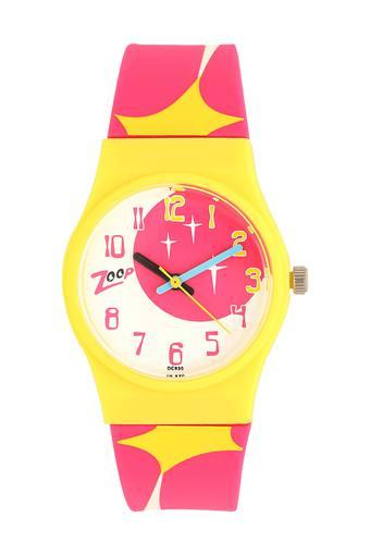 Girls Analogue Stainless Steel Watch - NKC3028PP07