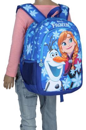 Girls Elsa and Anna Zip Closure School Bag
