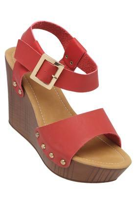 7b3016f0ce1b X LAVIE Womens Casual Buckle Closure Wedges. LAVIE. Womens Casual Buckle  Closure Wedges ... MRP Rs 2499