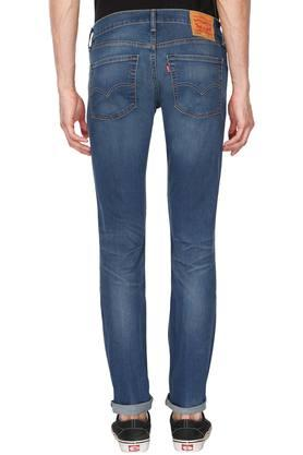 Mens 5 Pocket Mild Wash Jeans (65504)