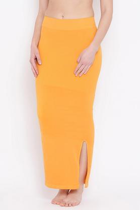Womens Solid Saree Shapewear