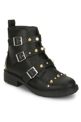 TRUFFLE COLLECTIONWomens Casual Wear Zipper Closure Boots - 204067073_9212