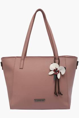 CAPRESEWomens Casual Wear Zipper Closure Tote Handbag - 203154351