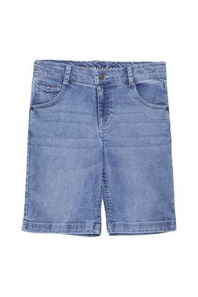 Boys Whiskered Effect Shorts