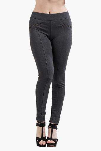 KRAUS -  Dark GreyTrousers & Pants - Main